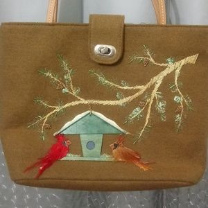 Vintage Capelli of New York tote mint condition